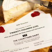 £20 cheese gift voucher