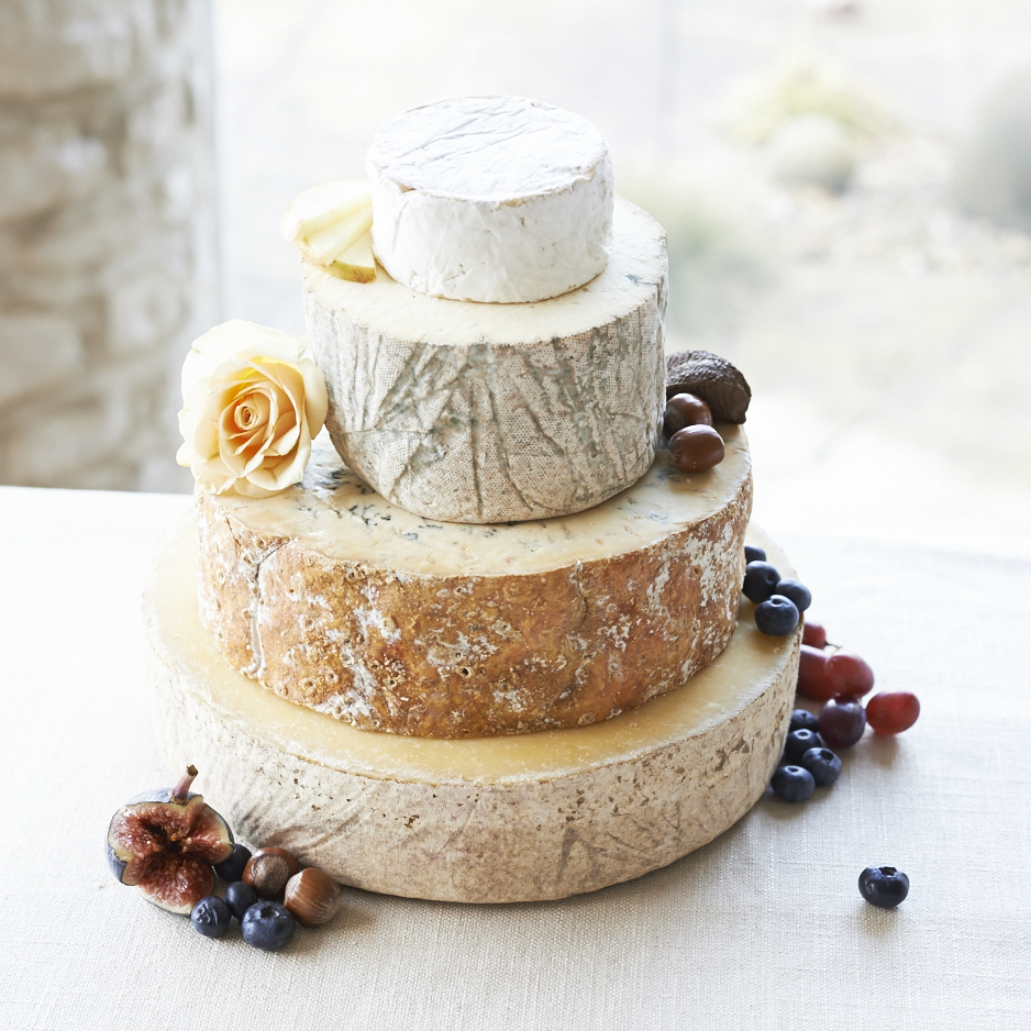 how to make a cheese wedding cake