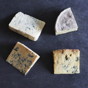 Blue cheese selection box