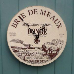 Brie de meaux clock picture