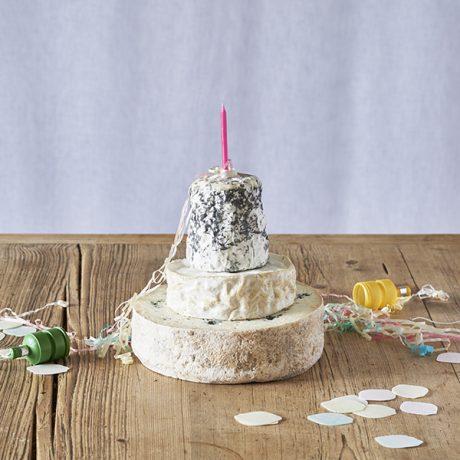 Birthday Cheese Cake Tower