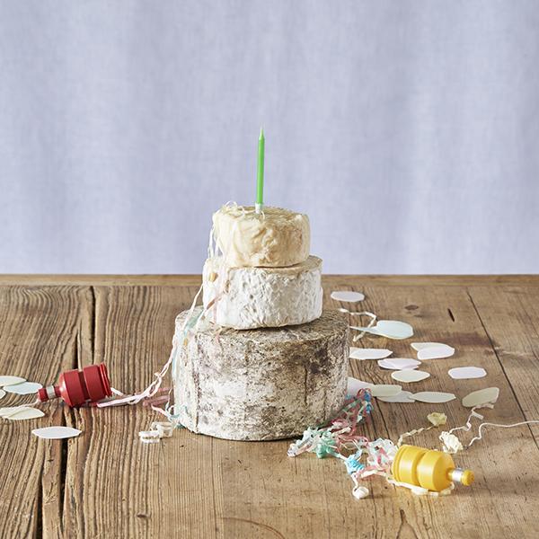 Sensational Mini Cheese Cake Tower The Courtyard Dairy Personalised Birthday Cards Beptaeletsinfo