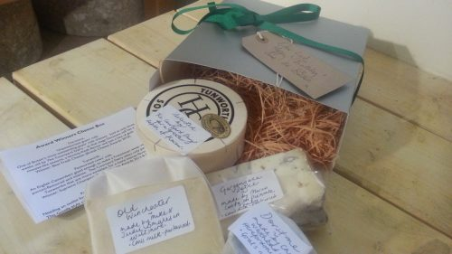 Cheese gift box