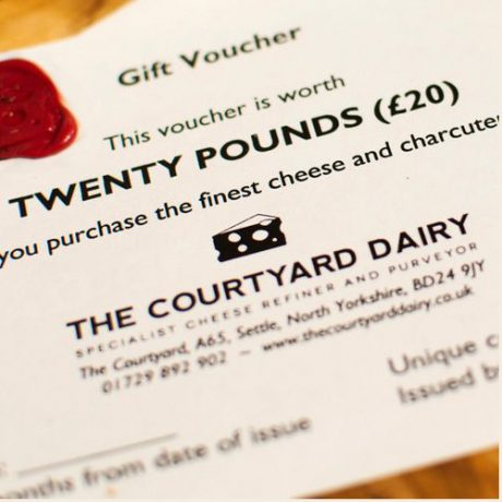 Cheese gift voucher £20