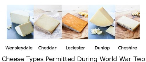 Cheese Types Permitted During Rationing