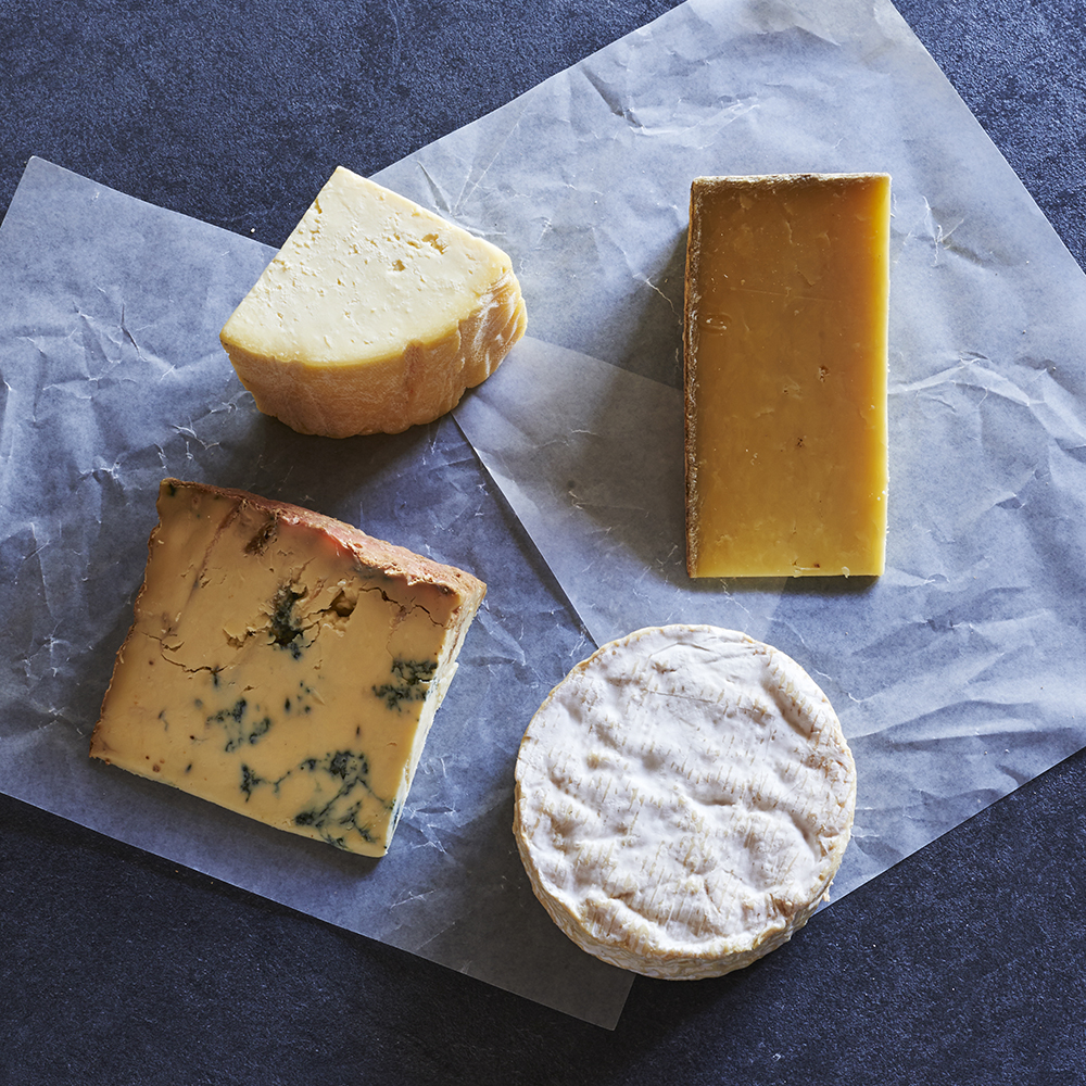 Irish Cheese Selection Box Buy Online From The Courtyard