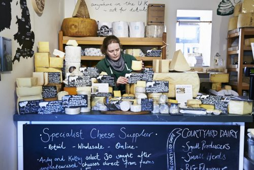 Mail order cheesemonger