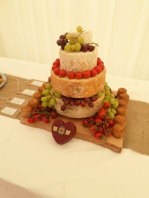 Cheese Wedding Cake Testimonials & Pictures (3)