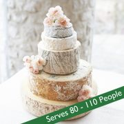 Cheese wedding cake amethyst picture