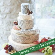 Cheese wedding cake picture