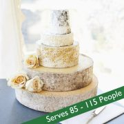 Cheese wedding cake picture pearl