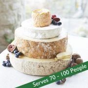 Cheese wedding cake topaz