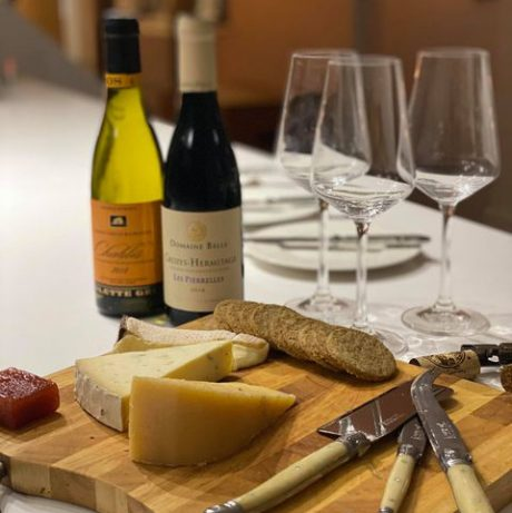 Virtual Cheese and Wine Zoom Tasting