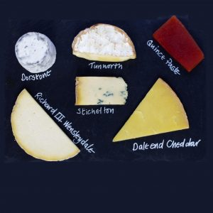 Christmas cheese gift