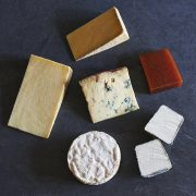 Christmas cheese selection box