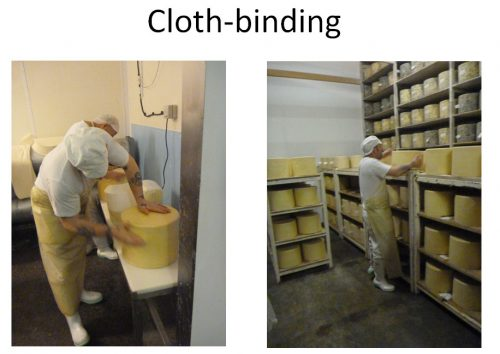 Cloth bound unpasteurised