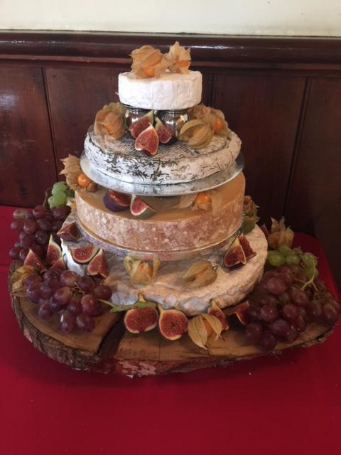 L Coates Cheese Wedding Cake