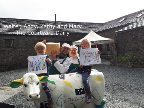 Courtyard Dairy Family