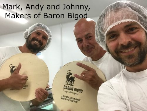 Johnny of Baron Bigod Cheese