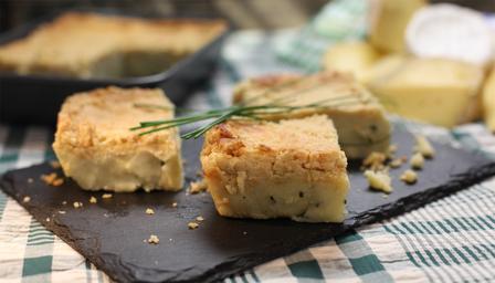 Dale end cheddar botton cheese potato pie