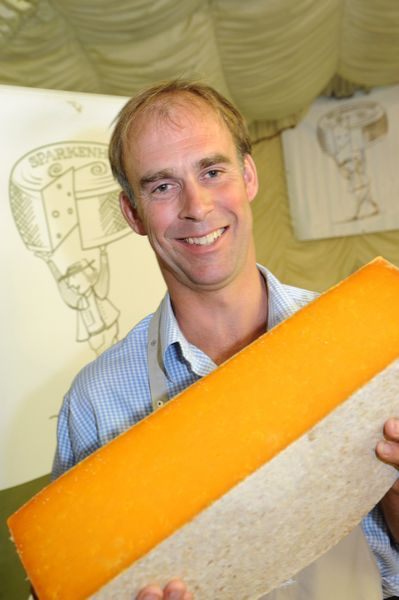 David clarke with red leicester sparkenhoe