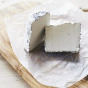 Dorstone goats cut cheese