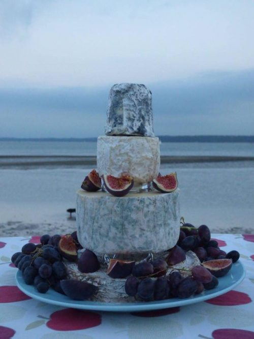 McGukian Cheese Wedding Cake