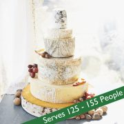 Emerald large cheese wedding cake