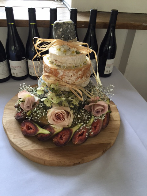 Customer Gillet Smith Cheese Wedding Cake