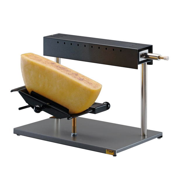 gas half wheel raclette machine the courtyard dairy. Black Bedroom Furniture Sets. Home Design Ideas