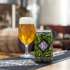 Kirkstall Session IPA Virtuous Beer