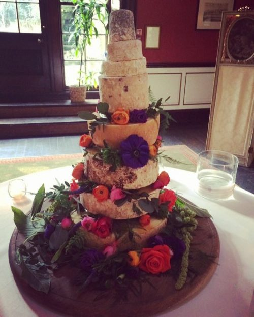 L Jeary Cheese Wedding Cake