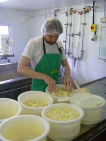 Making old winchester cheese