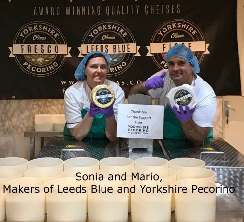 Mario and Sonia of Leeds Blue Cheese