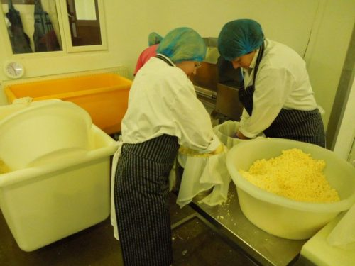 Milling mrs kirkhams lancashire cheese