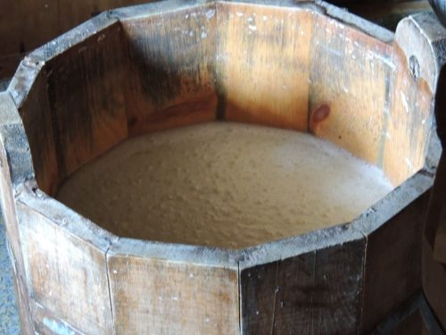 Natural Starter for Cheese - wood equipment