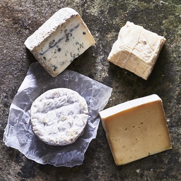 Brand-New British Cheeses