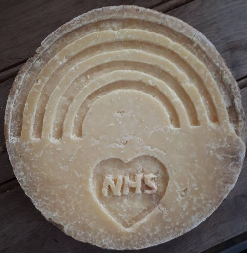 NHS Cheese carving