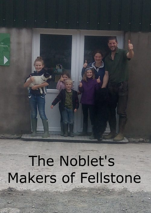 Noblet family of Fellstone cheese