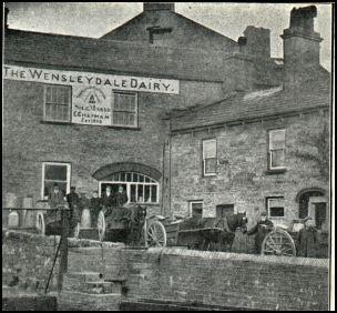 Old wensleydale chapman dairy hawes