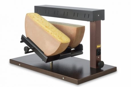 Double Holder Half Wheel Electric Raclette Machine