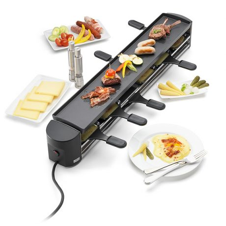 raclette grill 6 person the courtyard dairy. Black Bedroom Furniture Sets. Home Design Ideas