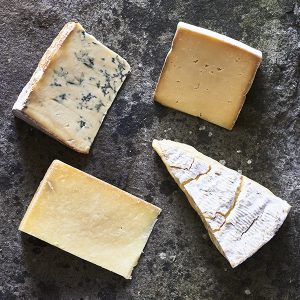 Raw Unpasteurised Cheese Selection