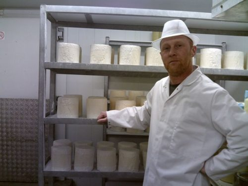 Richard 3rd wensleydale cheese andy ridley