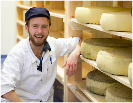 David Jowett of Rollright Cheese