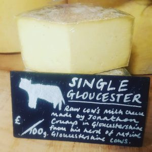 Single Gloucester Cheese - Jonathan Crump