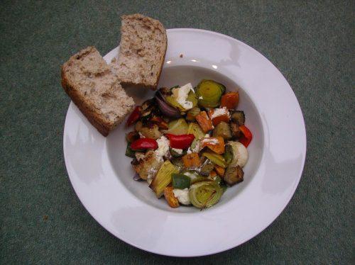 Sinodun Hill Cheese Roast Vegetables Recipe