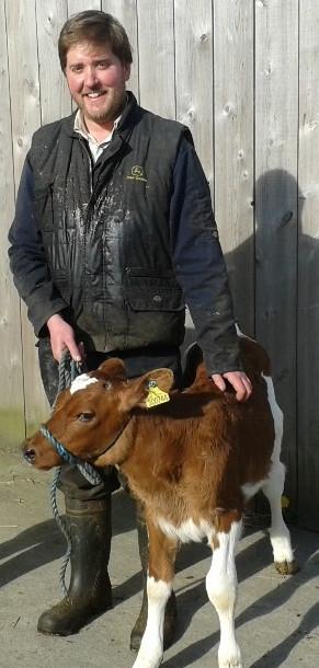 Nick Millard of Holden Farm Dairy