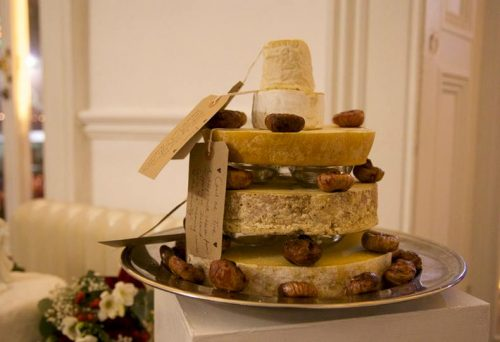 Thody cheese wedding cake