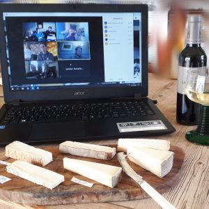 Virtual Cheese Tasting